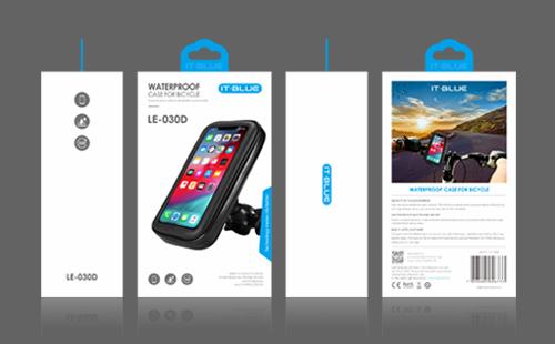 IT-BLUE品牌自行车手机支架包装设计