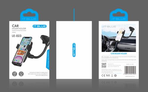 IT-BLUE品牌车载手机支架包装设计