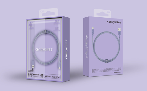 CANDYWIREZ充电线包装设计