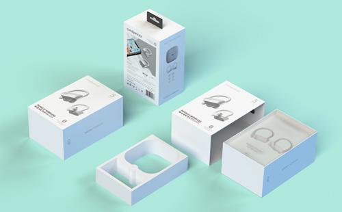 TWS蓝牙耳机包装设计