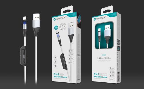 聚新科技充电线包装设计